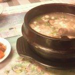 韓国料理とよもぎ蒸しの店 スック - サムゲタン