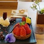 Gallery & Cafe ENSOU - いちごのタルト