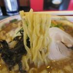 吟醸煮干 灯花紅猿 - 菅野麺