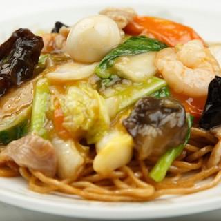 ランチ限定【40食】の焼きそばは麺の仕上げが違います。