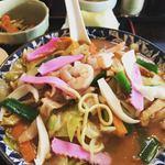 西海亭 - 味噌ちゃんぽんランチ1120円 辛めもok