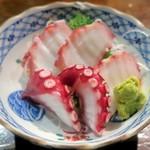 江戸や鮨八 - たこ刺身¥580