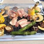 江戸や鮨八 - 初めての花見BBQ