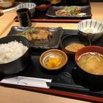 魚然 - くろむつの煮魚定食
