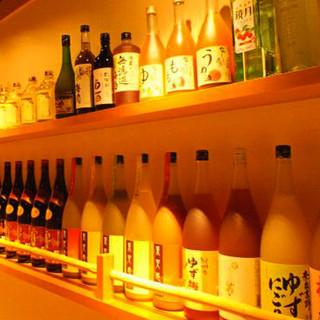 レアな銘柄から定番まで!焼酎、梅酒、日本酒などお酒も充実★