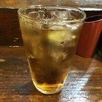 やきとり七福 - ドリンク写真:ウーロン茶