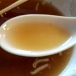 蒲田温泉 - スープは黄金色