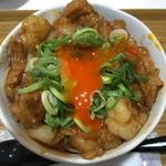 麺とかき氷 ドギャン - 玉子割り