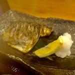 八寸 - トロ鯖炭火焼定食1,200円