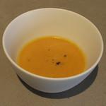 ダイニングソシアル - ニンジンと玉ねぎと豆乳のスープ