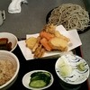 うさぎ庵 - 料理写真:ランチセットの『野菜天盛り1180円プラス蕎麦大盛り200円!』