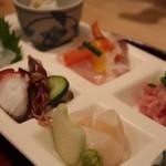 浜町 ふじ田 - お刺身御膳1000円