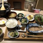 83664021 - 朝定食、納豆