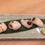 和食 哲茶ん - とらふぐ白子焼き (1800円)