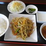 竹園 - 豚肉ともやし炒め