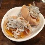 創作麺工房 鳴龍 - おつまみ味玉