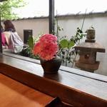 国分寺そば - カーネーション!?