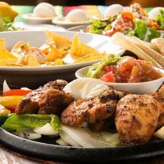 本格メキシコ料理を気軽に食べられる!人気のメニューが目白押し