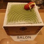 83669521 - 茶房パフェ-日本庭園風