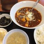台湾料理 新台北 - 麻婆豆腐定食
