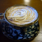 『東海館』喫茶室 - ウィンナーコーヒー