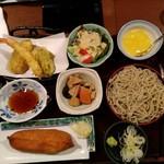 いっちょう - 天ぷらお蕎麦ランチ840円外税