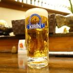 みやもと - ビールは生のみ
