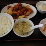 中国料理 華林 - 料理写真:古老肉定食