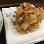 森製麺所 - かき揚げ120円のコスパが凄い