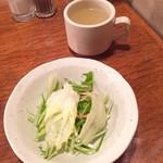 七つ森 - サラダとスープ