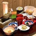 日本料理 伊せ吟 - 前菜 旬菜盛り込み