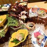 日本料理 伊せ吟 - 御造 伊勢海老と地魚盛り込み