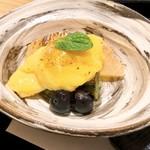 日本料理 伊せ吟 - 水物 甘酒のブリュレ