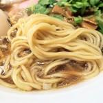 中華そば 幻六 - 麺