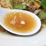 中華そば 幻六 - スープ