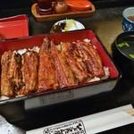 ひょうたん屋 - うな重(松)3,250円