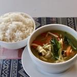 タイキッチン チャバ - 料理写真:グリーンカレー