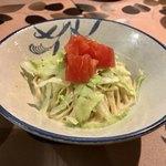 麺屋玉ぐすく - 麺屋のサラダ