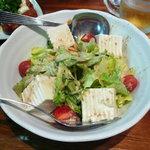 銭屋 - 豆腐サラダ