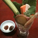 ごはんや農家の台所 - 野菜パフェ