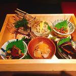 北海道海鮮・個室情緒 ~23番地~ - ツマミ盛り合わせ