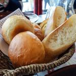 83681087 - 手作りパン(パエリヤランチ)