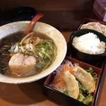 麺や太尊 - 料理写真:あっさり醤油らーめん+3品盛り