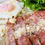 ヒナノ珈琲 越谷店 - 目玉焼きがすごく美味しい。