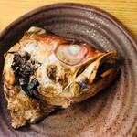 和洋酒菜 ひで - のどぐろかぶと焼き