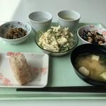 立川地方合同庁舎 食堂 - 単品の組み合わせ@450