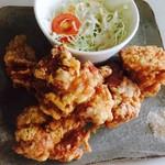 海鮮&ダイニング トルバドール - 国産鶏の唐揚げ