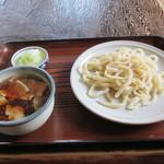 指田屋うどん - 料理写真:肉汁付けうどん