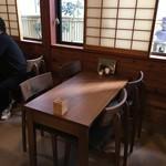 ちか定 - テーブル席〜(^。、^)w