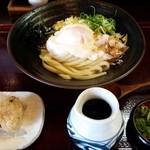 うどん まるよし - 2018/3/29 山芋ぶっかけうどん(冷)